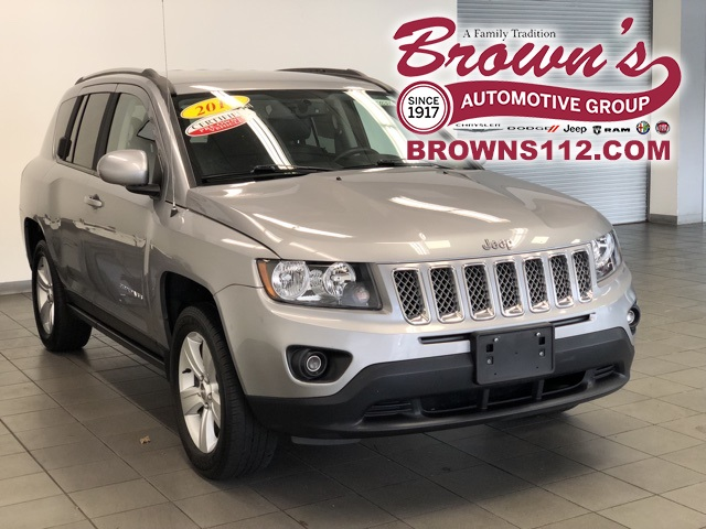 Pre-Owned 2016 Jeep Compass Latitude 4X4 CERTIFIED