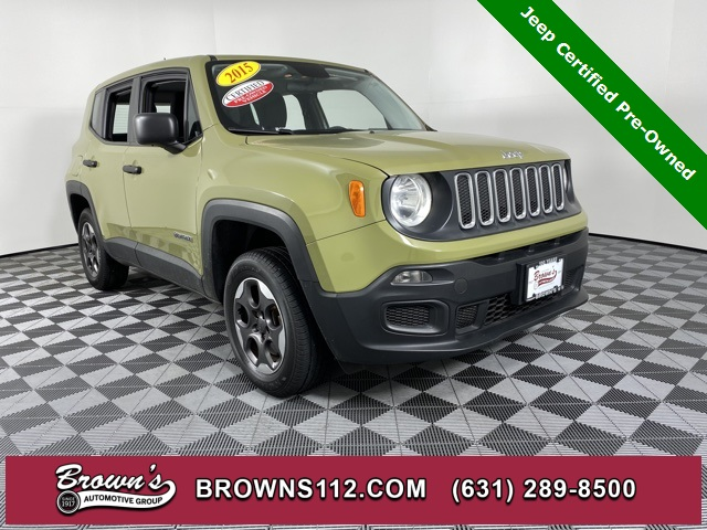 Pre-Owned 2015 Jeep Renegade Sport